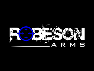 Robeson Arms logo design