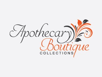 Apothecary Boutique Collections logo design