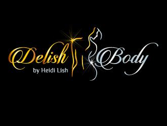 Delish Body by Heidi Lish logo design