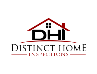 Distinct Home Inspections logo design - 48HoursLogo.com