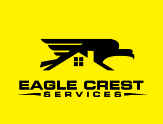 Eagle Crest Services logo design