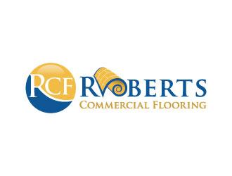 Roberts Commercial Flooring logo design
