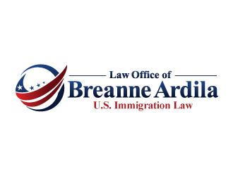 Law Office of Breanne Ardila logo design winner