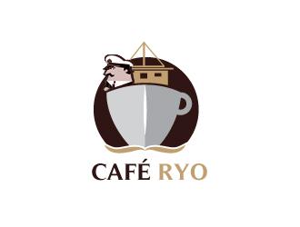 CAFÉ RYO logo design
