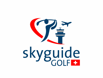 skyguide golf logo design