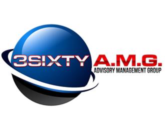 3Sixty A.M.G. logo design winner