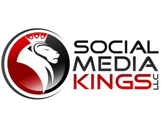 Social Media Kings, LLC logo design winner