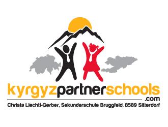 kyrgyzpartnerschools.com logo design winner