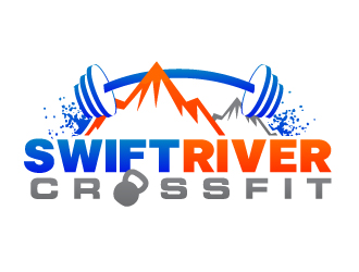 Swift River CrossFit logo design