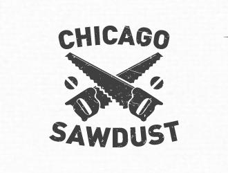 Chicago sawdust logo design