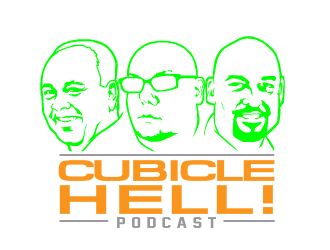 Cubicle Hell! Podcast logo design