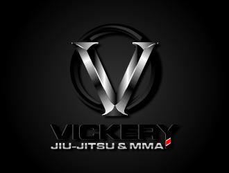 Vickery Jiu-Jitsu & MMA logo design