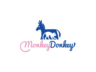 Monkey Donkey logo design