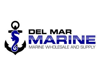 Del Mar Marine logo design