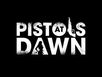 Pistols at Dawn logo design