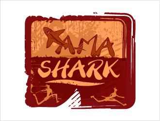 amaShark logo design