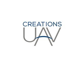 Creations UAV logo design