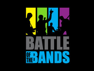 Battle of the Bands logo design