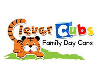 Clever Cubs Family Day Care logo design