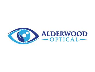 Alderwood Optical logo design winner