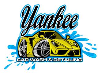 yankee car wash detailing logo design 48hourslogo com rh 48hourslogo com free car wash logo design car wash logo design vector
