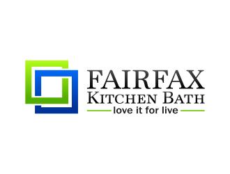 Fairfax Kitchen Bath logo design