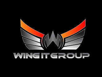 Wing It Group logo design