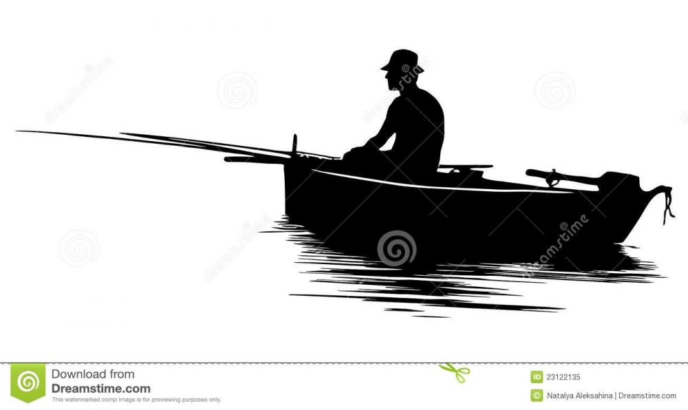 Row Boat Clip Art Black And White