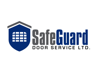 SafeGuard Door Service Ltd. logo design