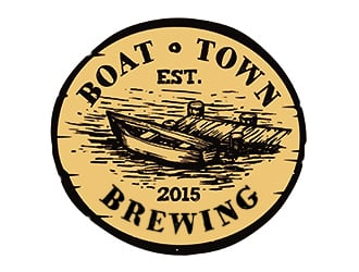 Boat Town Brewing logo design