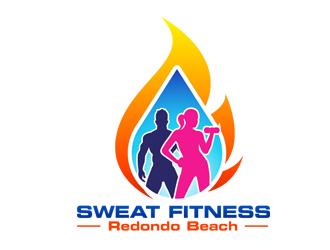 Sweat Fitness ~ Redondo Beach logo design - 48HoursLogo.com