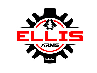Ellis Arms logo design