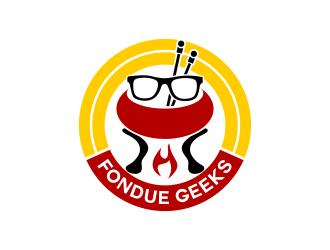 fondue Geeks logo design