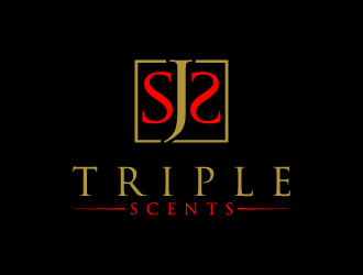 SJ'S TRIPLE SCENTS logo design
