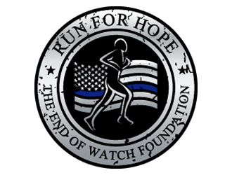 "The End of Watch Foundation ""Run for Hope"" logo winner"