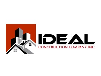 Ideal Construction Company Inc Logo Design