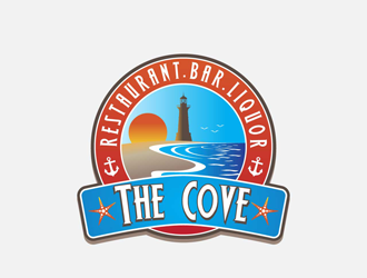 The Cove logo design