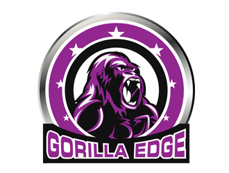 Gorilla Edge logo design