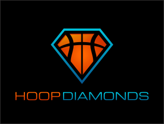 HoopDiamonds logo design