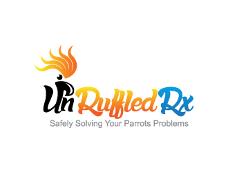 UnRuffledRx logo design