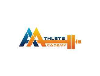 Athlete Academy logo design