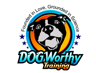 Dog Worthy Training logo design