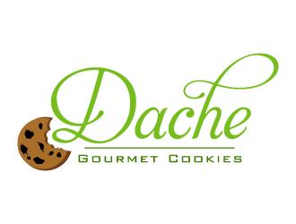 Dache Gourmet Cookies logo design