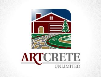 ArtCrete Unlimited logo design