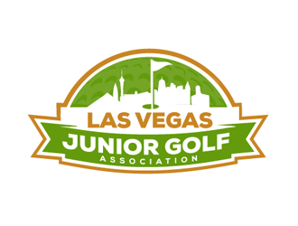 Las Vegas Junior Golf Association Logo Design