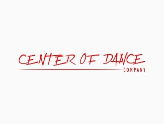 CENTER OF DANCE COMPANY logo design