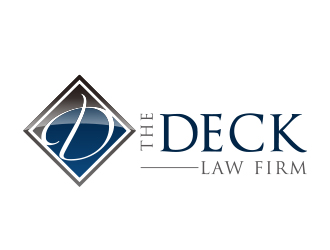 The Deck Law Firm logo design by cashromeo