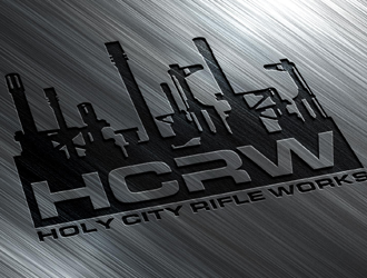 Holy City Rifle Works logo design