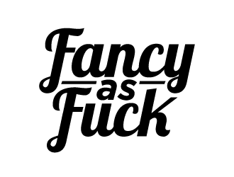 Fancy As Fuck logo design