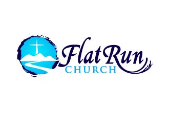 Flat Run Church logo design winner